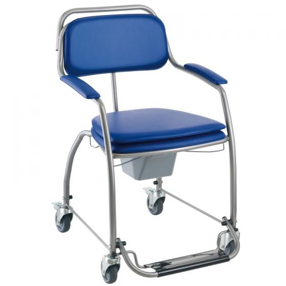 chaise de toilette omega mobile invacare orvimed mat riel m dical. Black Bedroom Furniture Sets. Home Design Ideas